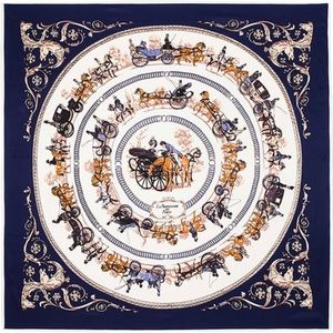 Accessories - 💥100% Silk Horses Carriage Scarf